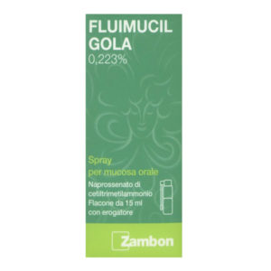 Fluimucil Gola Spray