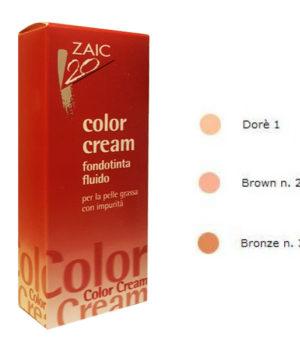 zaic 20 color cream fondotinta fluido