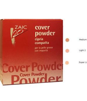 zaic cover powder cipria compatta