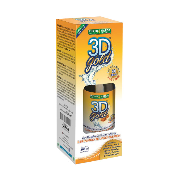 3d gold drenante