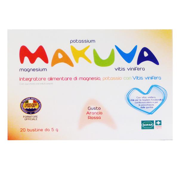 Gambe Pesanti Makuva integratore