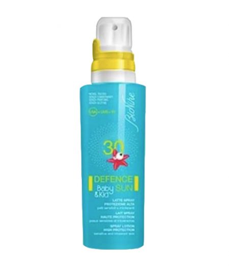 Bionike Defence Sun Latte Spray Baby and Kids SPF 30