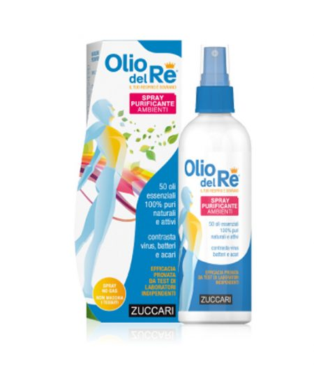 Olio del Re Spray Purificante Ambienti