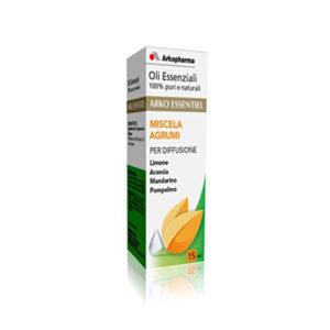olii essenziali per diffusori agrumi