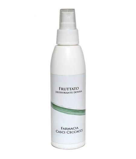 deodorante donna fruttato pelli sensibili