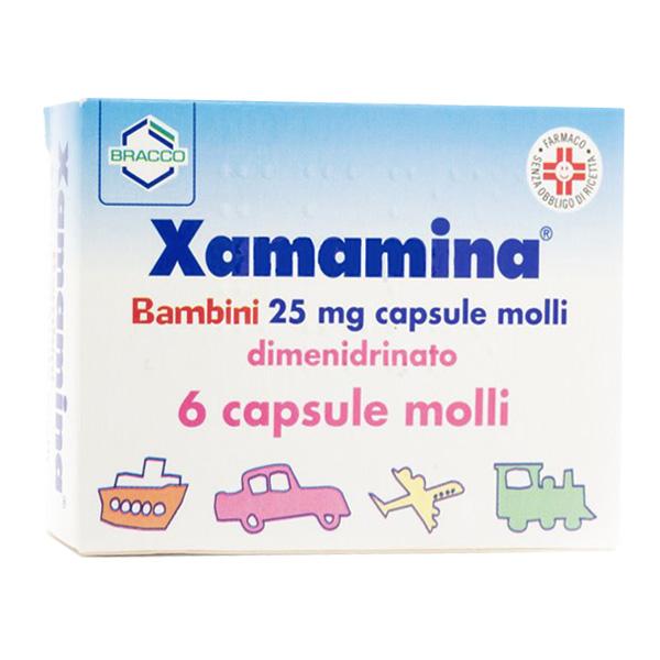 xamamina bambini farmacia casci