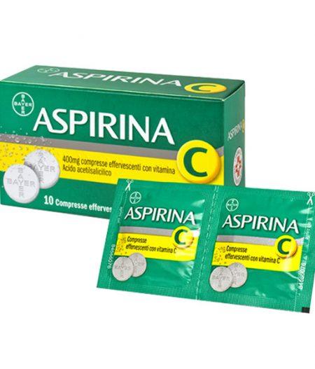 Aspirina C 10 Compresse Effervescenti