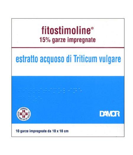 Fitostimoline 15 % Garze impregnate