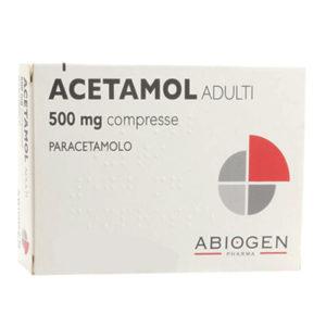 Acetamol Adulti Compresse 500mg