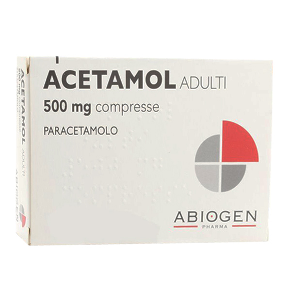 Acetamol Adulti Compresse 500mg