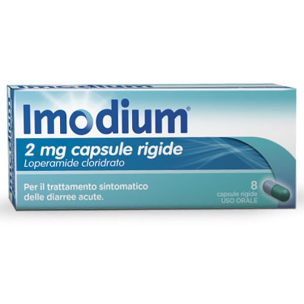 Imodium 2mg Capsule Rigide