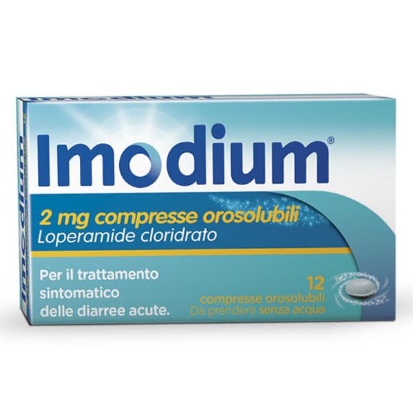 Imodium 2mg Compresse Orosolubili