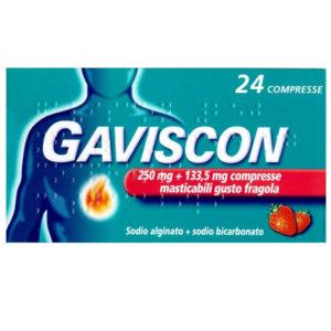 Gaviscon Compresse Masticabili gusto fragola