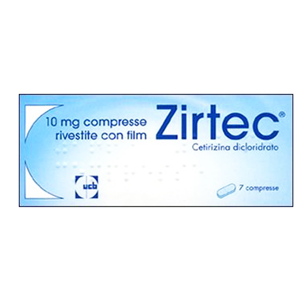 Zirtec Compresse rivestite