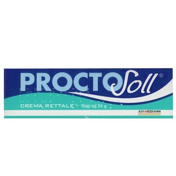 Proctosoll Crema Rettale