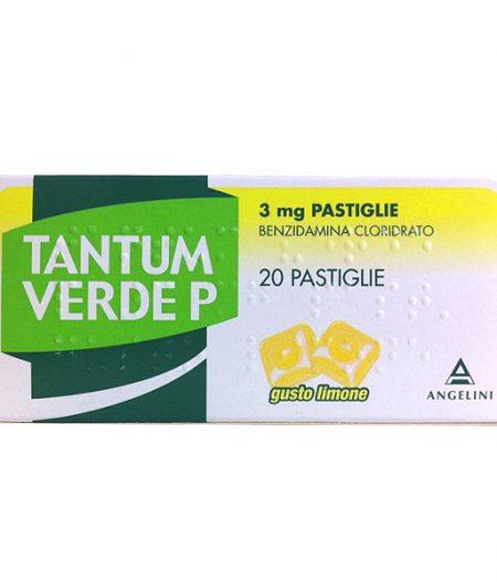Tantum Verde P 3 mg Pastiglie Gusto Limone