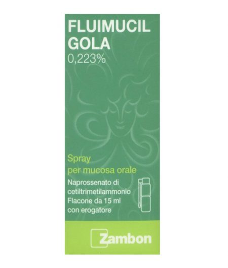 Fluimucil Gola Spray