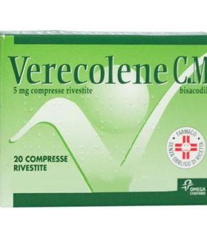 Verecolene c.m 5 mg compresse rivestite