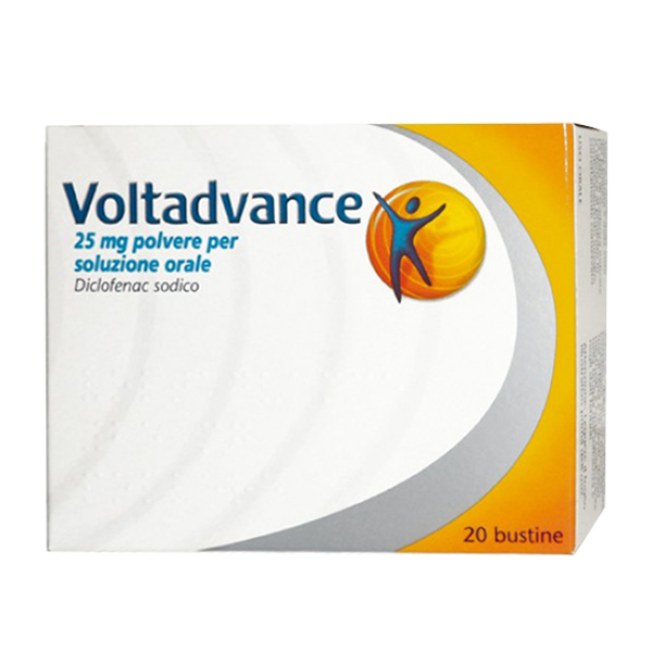 Voltadvance 25 mg bustine