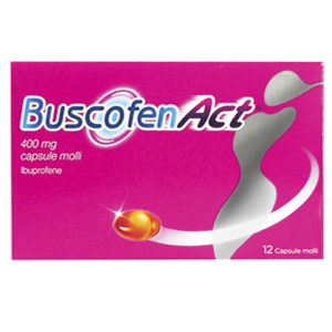 BuscofenAct 400 mg capsule molli