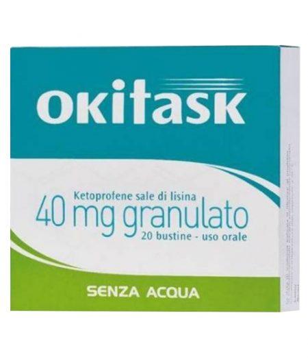 OKITASK 40 mg granulato 20 bustine