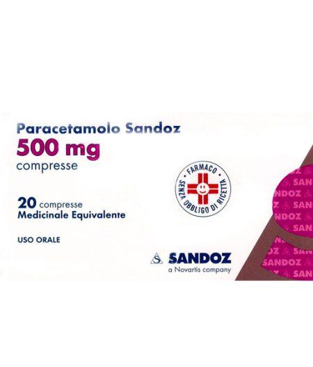 Paracetamolo Sandoz 500 mg compresse