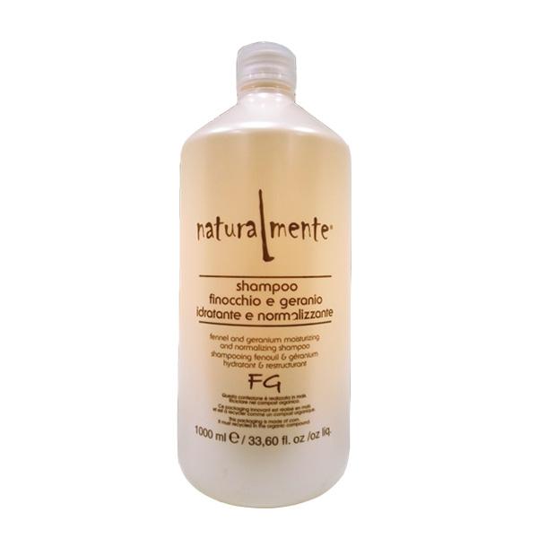 naturalmente shampoo finocchio e geranio