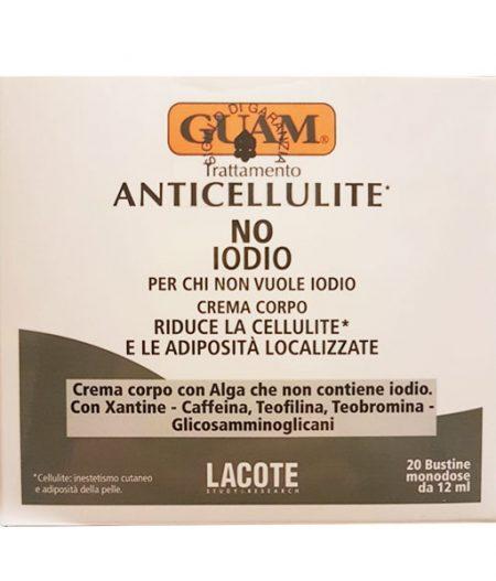 guam trattamento anticellulite no iodio