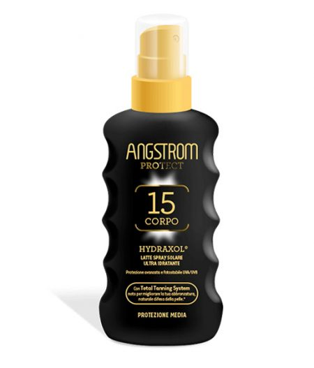 Angstrom Latte Solare Spray spf 15