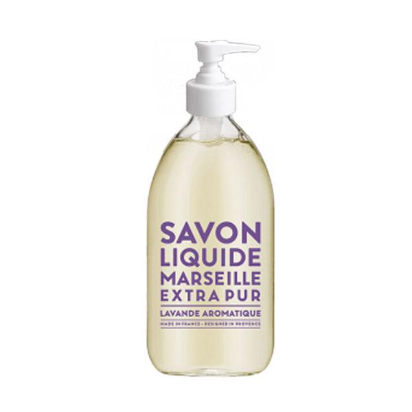 compagnie de provence sapone di marsiglia liquido lavanda aromatica 500 ml