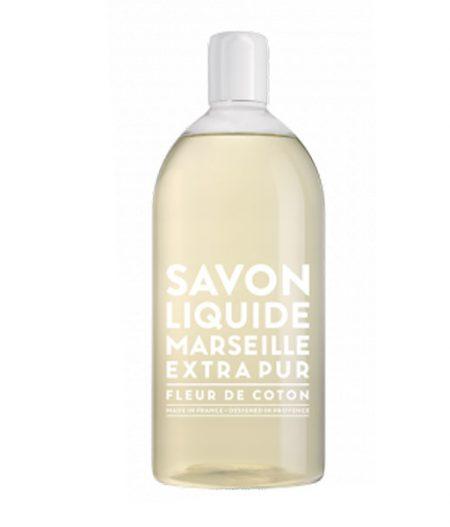 compagnie de provence sapone liquido di marsiglia fleur de coton