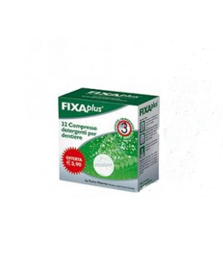 Fixaplus 32 cpr detergenti