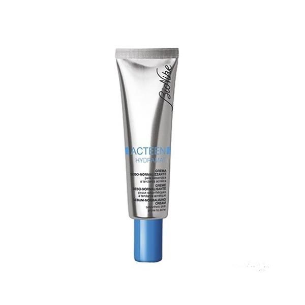 formula leggera e ultra-fresca, risponde alle precise esigenze della pelle seborroica a tendenza acneica.
