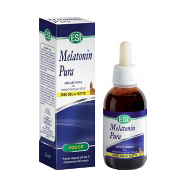 melatonin pura gocce con erbe notte